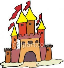 Fireplace clipart castle