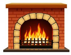 Fireplace clipart hearth