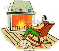 Fireplace clipart hot thing