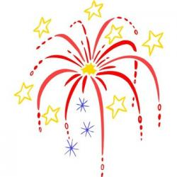Fireworks clipart 4th july firework