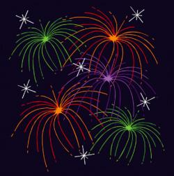 Cracker clipart fireworks display