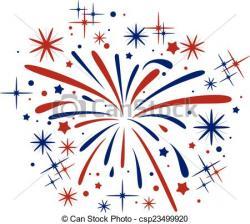 Fireworks clipart burst
