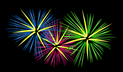 Fireworks clipart cartoon