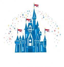 Palace clipart cinderella castle