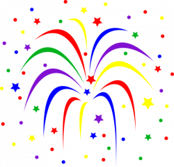Fireworks clipart celebration