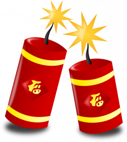 Fireworks clipart chinese firework