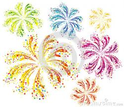Fun clipart colorful firework