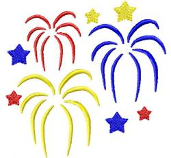 Fireworks clipart end school year