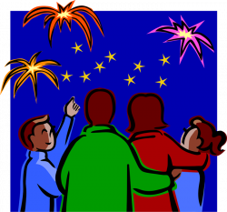 Celebration clipart new years day