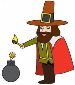 Bonfire clipart guy fawkes night