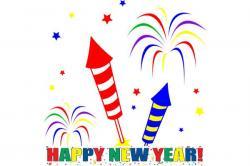 New Year clipart feliz