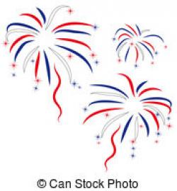 Display clipart independence day firework