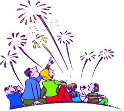 Cracker clipart 4th july