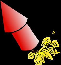 Rocket clipart firework