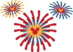 Fireworks clipart mickey mouse