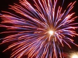 Fireworks clipart motion