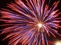 Fireworks clipart motion