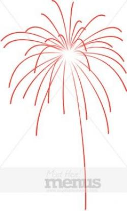 Fireworks clipart pastel