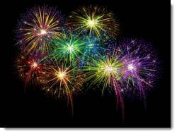 Fireworks clipart powerpoint free download