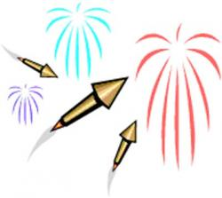 Sparklers clipart cracker