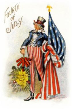 Uncle Sam clipart vintage