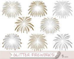 Fireworks clipart wedding