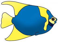 Clownfish clipart colourful fish