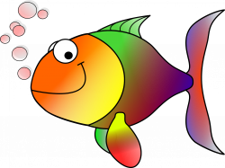 Salmon clipart little fish