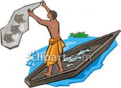 Indians clipart fishing