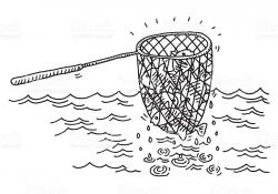 Fish Net clipart catch fish