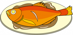 Salmon clipart cooked fish