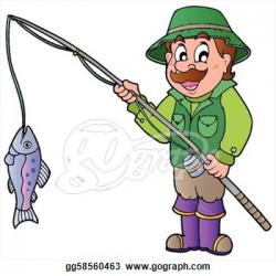 Fish Net clipart fisher