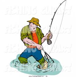 Fish Net clipart fisherman