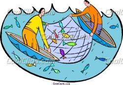 Fish Net clipart fishery