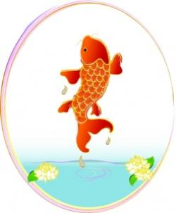 Fish Net clipart pond animal