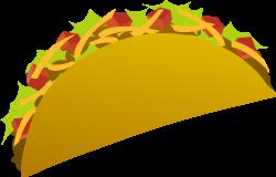 Drawn taco animated