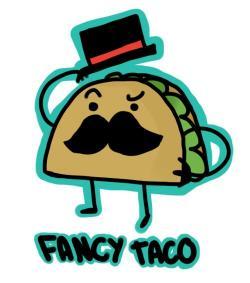 Drawn taco funny cartoon