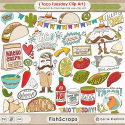 Fish Taco clipart mexico