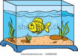 Fishtank clipart pet fish