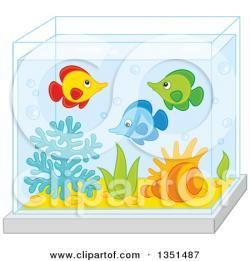 Fishtank clipart cute