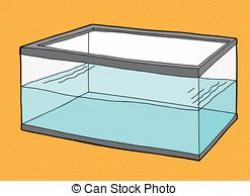 Fishtank clipart water container