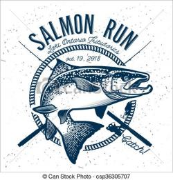 Salmon clipart salmon fishing