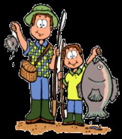 Beaver clipart fishing