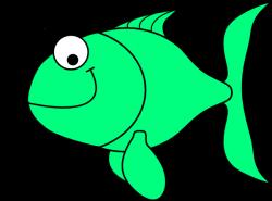 Fins clipart green fish
