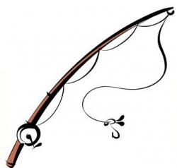 Line clipart fishing pole