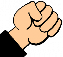 Hand Gesture clipart fist pump