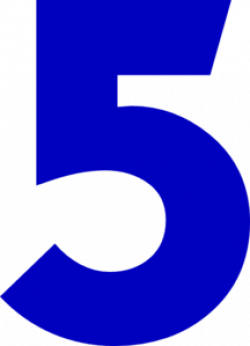 Five clipart
