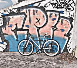 Fixie clipart graffiti