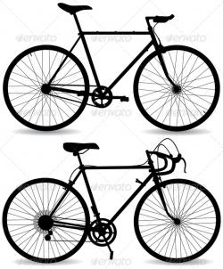 Fixie clipart road bike