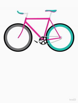 Fixie clipart simple